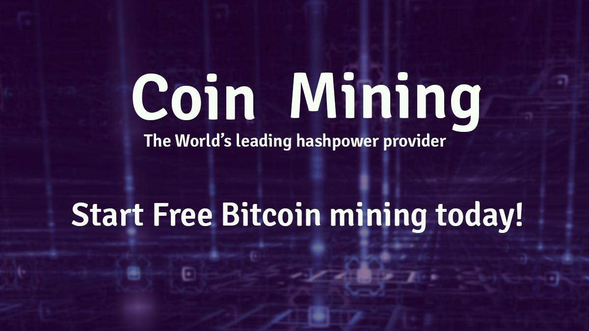 The Best Free Bitcoin Miner 2018 | Start Mining now - Coinmining Pool